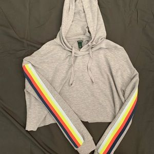 CROPPED WILD FABLE HOODIE